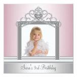 Party Prinzessin-Tiara Foto Prinzessin Birthday Individuelle Einladung