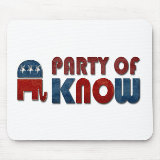 Party von kennen lustiges republikanisches mousepad