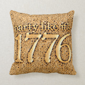 Party wie es ist 1776 kissen