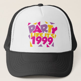 Party wie es ist 1999 - Funky1 Truckerkappe