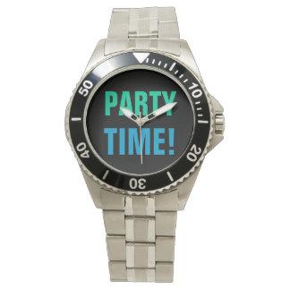 PARTY-ZEIT! Uhr