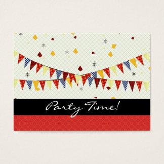 Party-Zeit! Visitenkarte