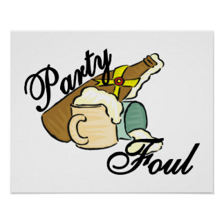 PartyFoul Poster
