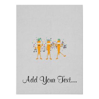 Partykarotten 16,5 X 22,2 Cm Einladungskarte