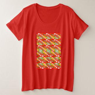 Partymädchen Große Größe T-Shirt