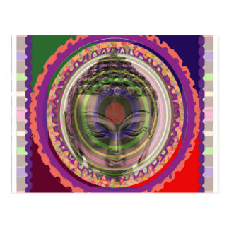 PARTYrückholgeschenkknopf-Magnetaufkleber BUDDHA Postkarten