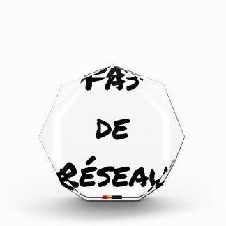 PAS DE RÉSEAU - Wortspiele - Francois Ville Acryl Auszeichnung