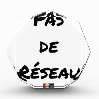 PAS DE RÉSEAU - Wortspiele - Francois Ville Auszeichnung