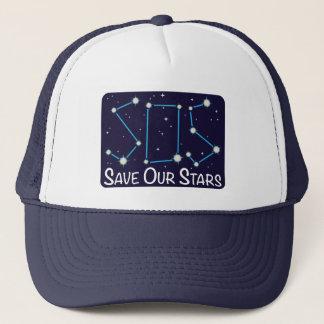 PAS retten unsere Sterne Truckerkappe