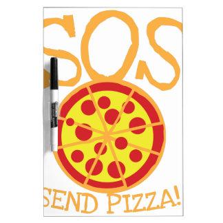 PAS! Senden Sie PIZZA! mit leckerer Memoboard