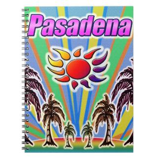 Pasadena-Sommer-Liebe Notizblock