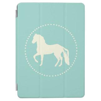 Paso Fino PferdeSilhouette iPad Air Cover