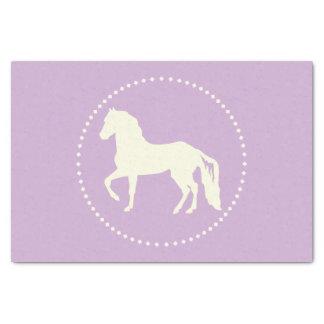 Paso Fino PferdeSilhouette Seidenpapier