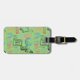 Pass-Briefmarken-Gepäck-Umbauten Kofferanhänger