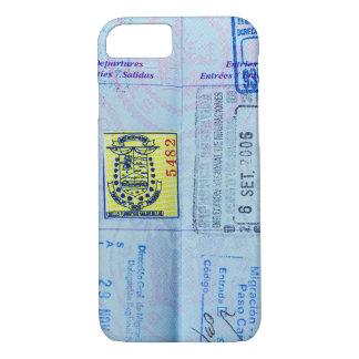 Pass-Briefmarken-Nahaufnahme iPhone 8/7 Hülle