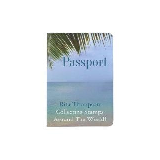 Pass-Halter der Ozean-Palmen-| Passhülle