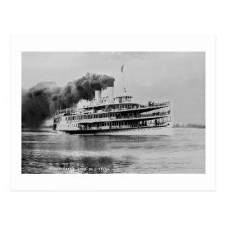 Passagier-Dampfer Tashmoo Great Lakes Louis Pesha Postkarte