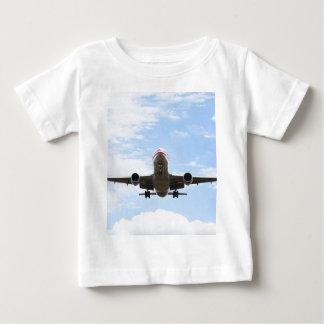 Passagier-Flugzeug Baby T-shirt