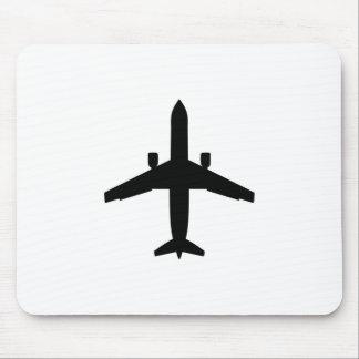 Passagier Flugzeug Mousepad