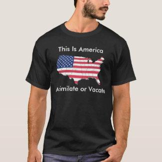 PASSEN SIE AN ODER RÄUMEN SIE T-Shirt
