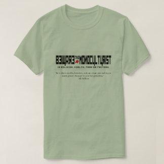 Passen Sie das monoculturist auf T-Shirt