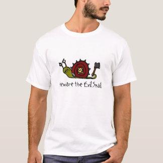 Passen Sie die schlechte Schnecke auf T-Shirt