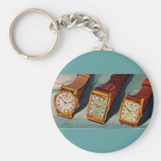 passen Sie dieses auf! Vierzigerjahre Armbanduhren Schlüsselanhänger