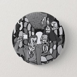 Passen Sie Dracula-Knopf auf Runder Button 5,7 Cm