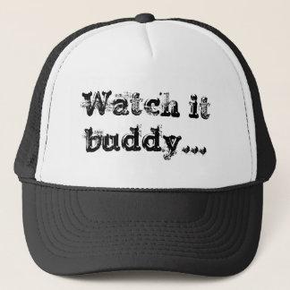 Passen Sie es buddhy auf Truckerkappe