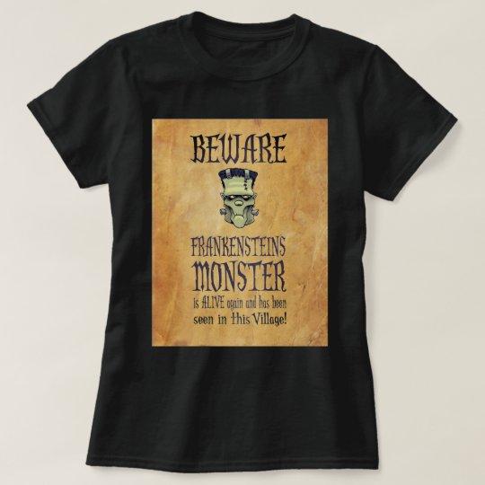 Passen Sie Frankensteins Monster auf T-Shirt
