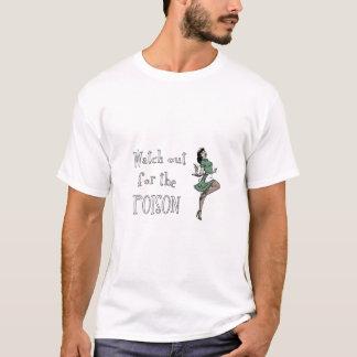 Passen Sie heraus für die Gift-Retro Kellnerin - T-Shirt