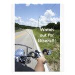 Passen Sie heraus für Radfahrer auf Bedruckte Flyer