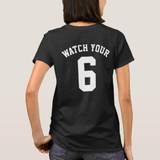 Passen Sie Ihren sechs hinteren Druck-T - Shirt