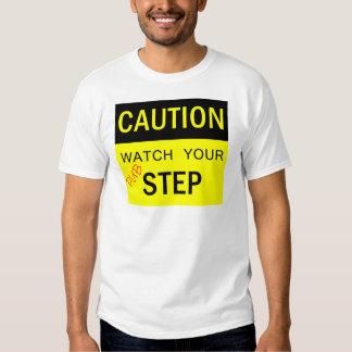 Passen Sie Ihren Tollpatsch-Schritt-T - Shirt auf