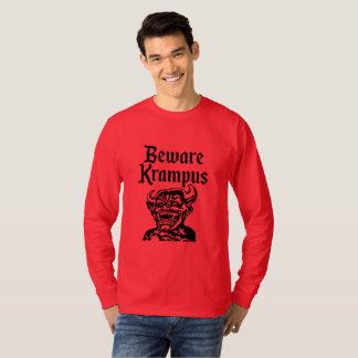 PASSEN SIE KRAMPUS AUF T-Shirt