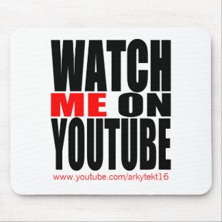 Passen Sie mich auf YouTube | auf, die modern sind Mousepads