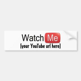 Passen Sie mich auf YouTube auf (grundlegend) Autoaufkleber