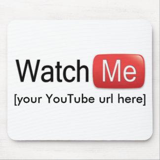 Passen Sie mich auf YouTube auf (grundlegend) Mauspad