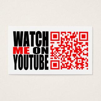 Passen Sie mich auf YouTube auf (modern) Visitenkarte