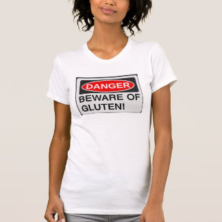 Passen Sie vom Gluten auf T-Shirt