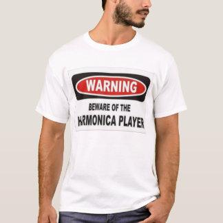 passen Sie vom Harmonikaspieler auf T-Shirt