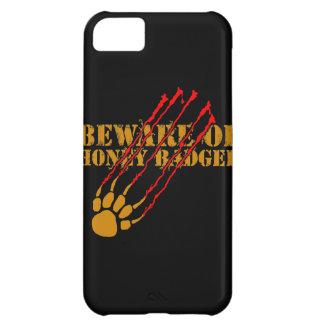 Passen Sie vom Honigdachs auf iPhone 5C Hülle