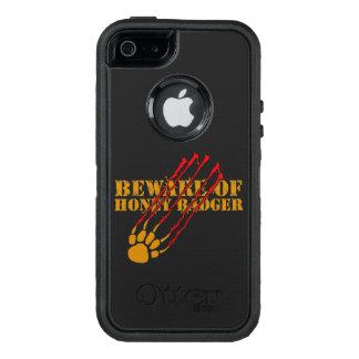 Passen Sie vom Honigdachs auf OtterBox iPhone 5/5s/SE Hülle