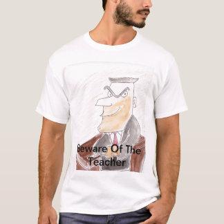 Passen Sie vom Lehrer auf T-Shirt