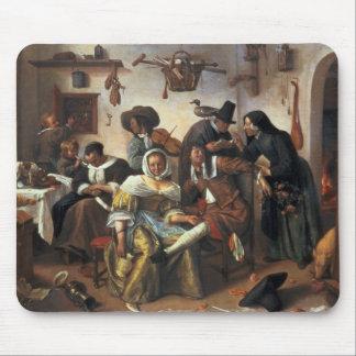 Passen Sie vom Luxus, c.1663 auf Mousepads