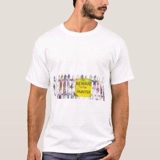 passen Sie vom Maler auf T-Shirt