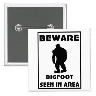 Passen Sie von Bigfoot-Plakat auf Anstecknadelbutton