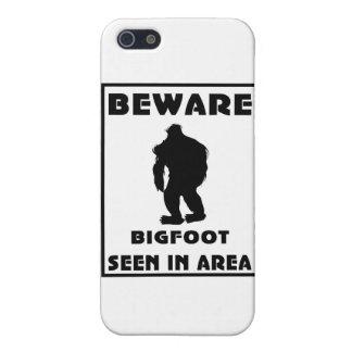 Passen Sie von Bigfoot-Plakat auf iPhone 5 Schutzhülle