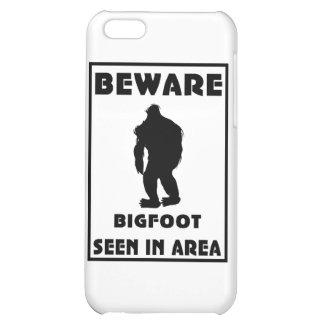Passen Sie von Bigfoot-Plakat auf