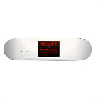 Passen Sie von Brüllenlöwechristlichem Skateboard  Personalisiertes Skateboard